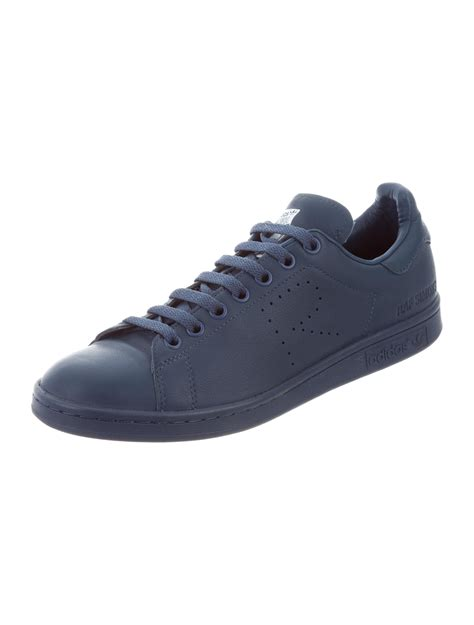 raf simons x adidas leather stan smith sneakers shoes wraad20162 the realreal
