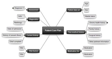 Nursing Concept Mapping Template Beneficialholdings Info Free Templates For Care Maps