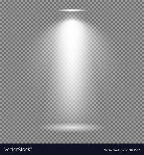 background image transparency light effect on transparent background bright vector image