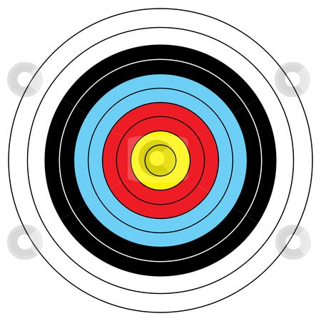 printable targets for archery printable archery targets clipart best