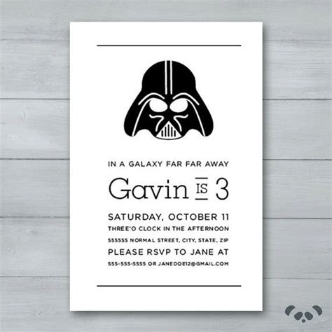 darth vader birthday card template 18 best images about wars on wars