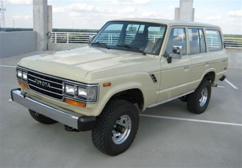 Toyota Land Cruiser 1990 Tlc Restored 1990 Toyota Land Cruiser Fj62 Bring A Trailer