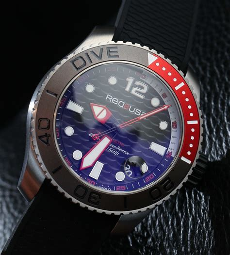 red8usa fifty dive watches on ablogtowatch