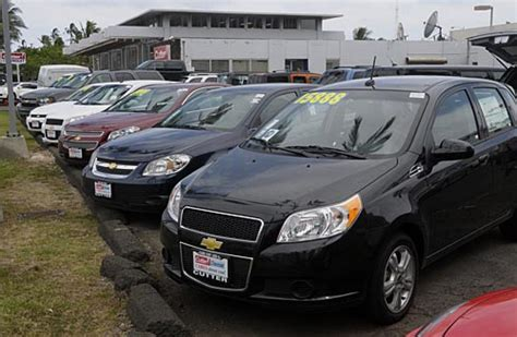 cutter chevrolet ala moana auto sales up on a bumpy road to recovery honolulu