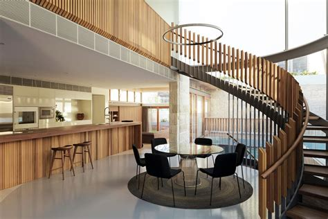 drawbridge style stairs lift up to secure treehouse retreat house of parts from cave like rooms to treehouse spaces
