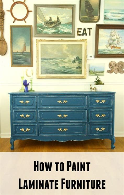 Upcycle Laminate Furniture - painting laminate furniture the old furniture and wall galleries