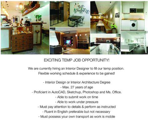interior design jobs indonesia intern temp interior designer studentjob indonesia