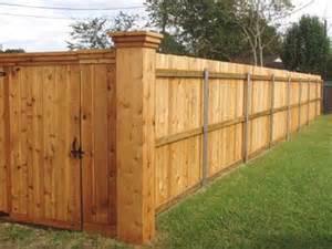 Cedar Fences This Cedar Fence Has Large Corner P