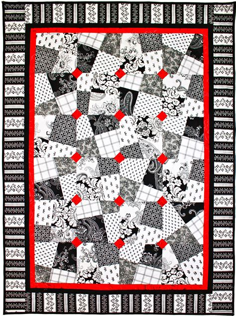 black and white quilt pattern ideas black white red allover free quilt patterns get