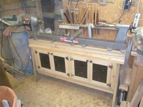 woodwork lathe bench design  plans