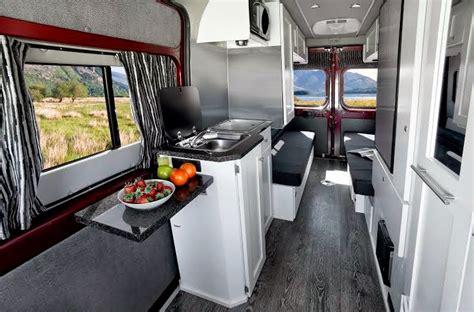 Roadtrek Floor Plans by Roadtrek S Zion Offers Versatile Roomy Interior Rv Trader Insider