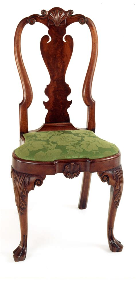 queen anne armchair andersen stauffer furniture makers seating coates family queen anne side chair