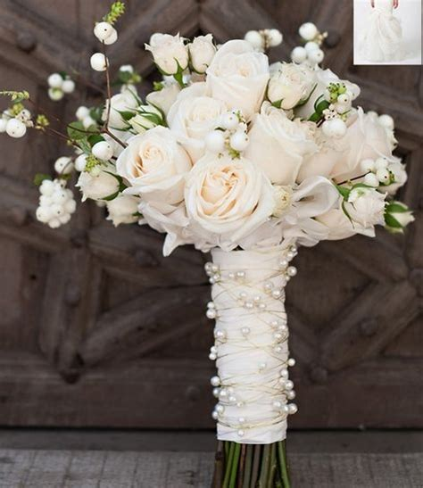 Handle Handbouqet 125 best images about bridal bouquet wraps on brooches lace and rhinestones