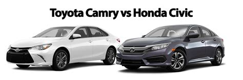 Honda Of Toyota Toyota Camry Vs Honda Civic Toyota Of Ardmore