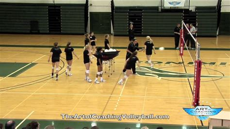 volleyball setting drills youtube scrap drill art of coaching volleyball youtube