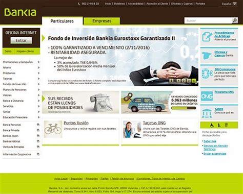 banca online particulares bankia es banca online datines
