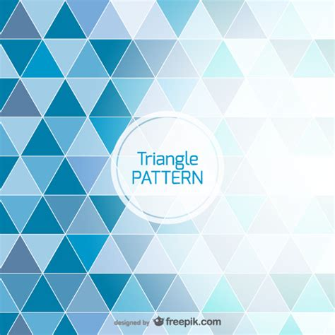 triangle background vector download blue background triangle design vector free download