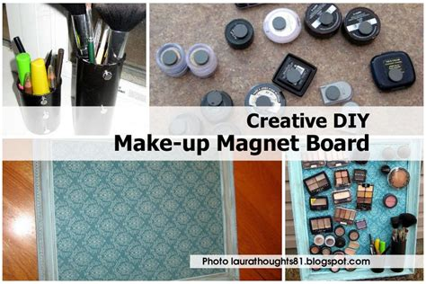 magnet diy projects creative diy make up magnet board