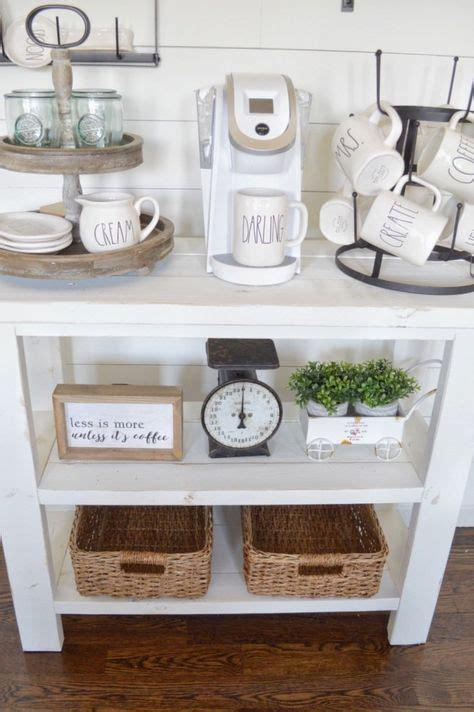 farmhouse coffee table decor diy coffee bar table how to build your own farmhouse
