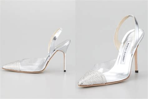 glass slipper shoes illusion wedding shoes for 2013 brides glass slipper manolos