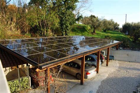 tettoia amovibile come installare una pensilina fotovoltaica il