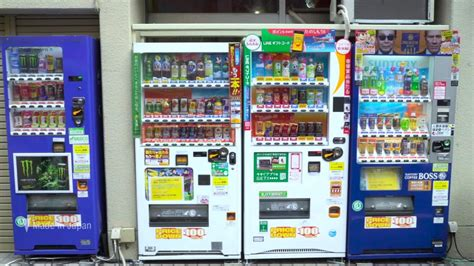 japanese vending machine used japan s evolving vending machines tech