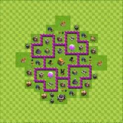 Base defense layout th6 by pixova base defense layout th6 by ramonms2