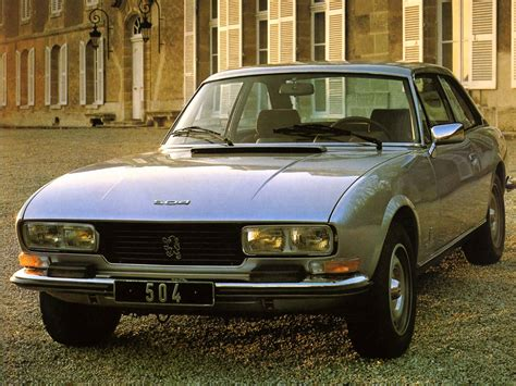 peugeot 504 coupe peugeot 504 coupe specs photos 1974 1975 1976 1977