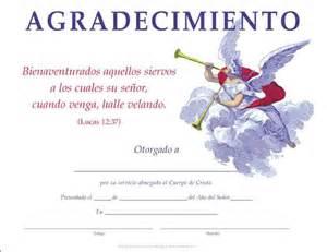 certificados de reconocimiento cristianos certificado de