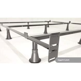 Metal Bed Frame Brackets Greenhome123 California King Size Metal Bed Frame With 9 Legs And Headboard Brackets
