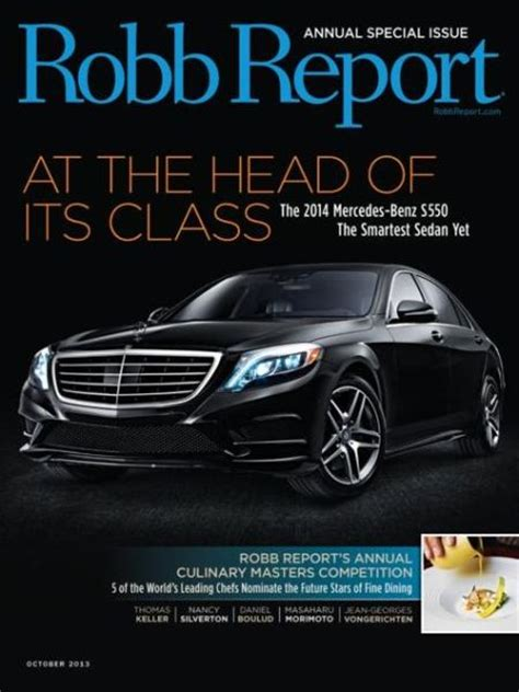 Robb Report Magazine by Robb Report Magazine Subscriptions Renewals Gifts