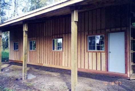 Back Shed by M W Building Supply Co Website