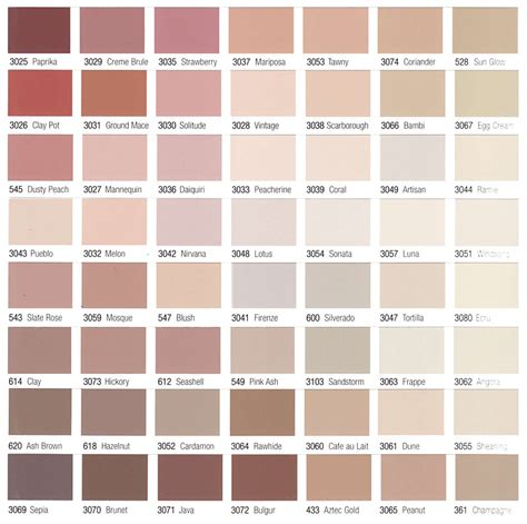 Exterior Paint Charts - stucco masonry painting eifs restoration continental wall systems group stucco color selection
