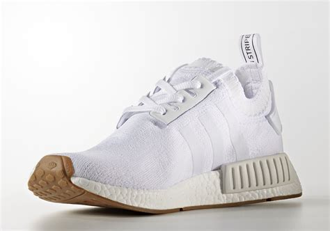 Adidas Nmd R1 Gum Pack White Original Sneakers adidas nmd r1 primeknit gum pack sneaker bar detroit
