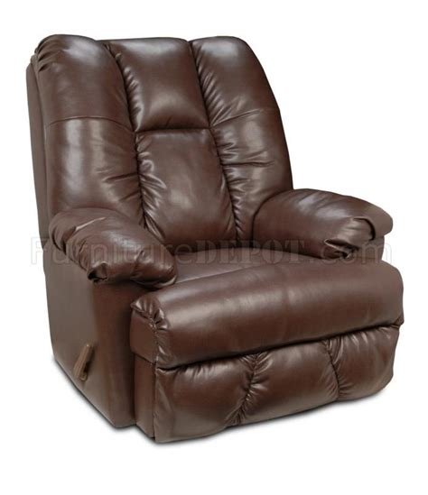 chocolate recliner chocolate suede microfiber comfortable modern recliner