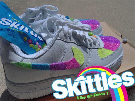 Nike Airforce One Gliter 1 custom glitter air ones sneaker my weblog