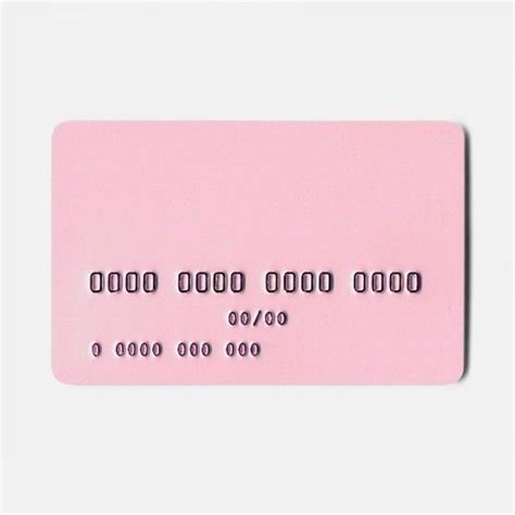 Pink Credit Card Digital by We Re Weekend Millionaires Image 2728021 By D On