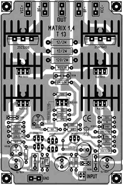 High Power Amplifier Matrix 1.4 in 2020   Audio amplifier