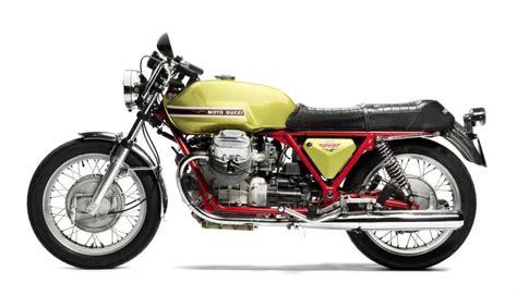 Moto Guzzi V7 by 1971 Moto Guzzi V7 Sport