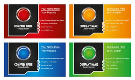 template kartu nama furniture download kumpulan template desain kartu nama modern gratis