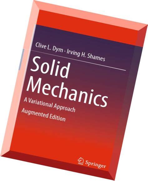 1461460336 solid mechanics a variational download solid mechanics a variational approach