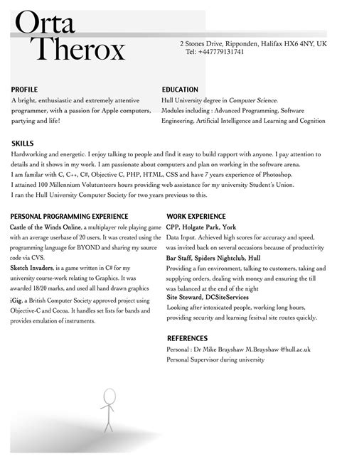 high resume templates resumes examples for jobs
