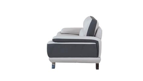 global furniture  natalie light grey dark grey