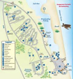 Florida State Park Map by Coastal Treasure Camping In Anastasia State Park
