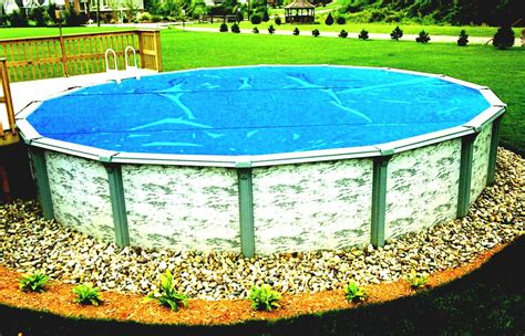 Above Ground Pool Backyard Landscaping Ideas by Cool Green Backyard Landscaping With Above Ground Pool