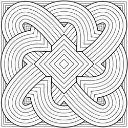 patterns to color 50 trippy coloring pages