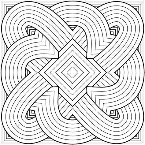 Galerry coloring pages cool patterns