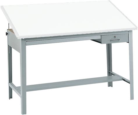 Drafting Table Base Precision 56 5 W X 35 5 H Drafting Table Base Gray 3962gr By Safco Bizchair