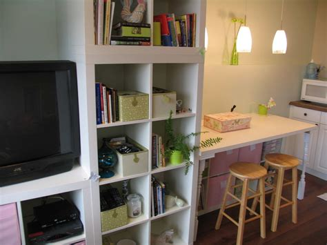 Best Lighting For Basement by Wall Of Expedit Workspace Plus Storage Plus Tv Ikea