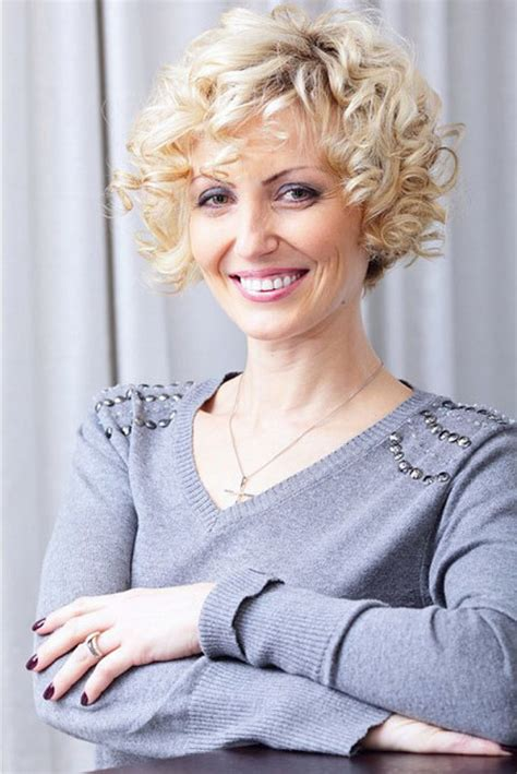 short curly perms for older women short curly hairstyles for women over 50 curly